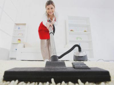 carpet-vacuuming